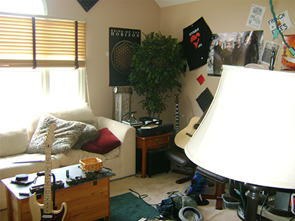 Cluttered Room Before