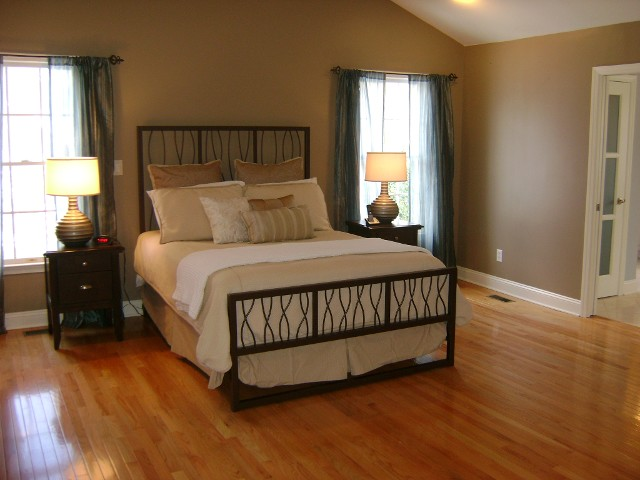 Wooden Floor Bedroom After