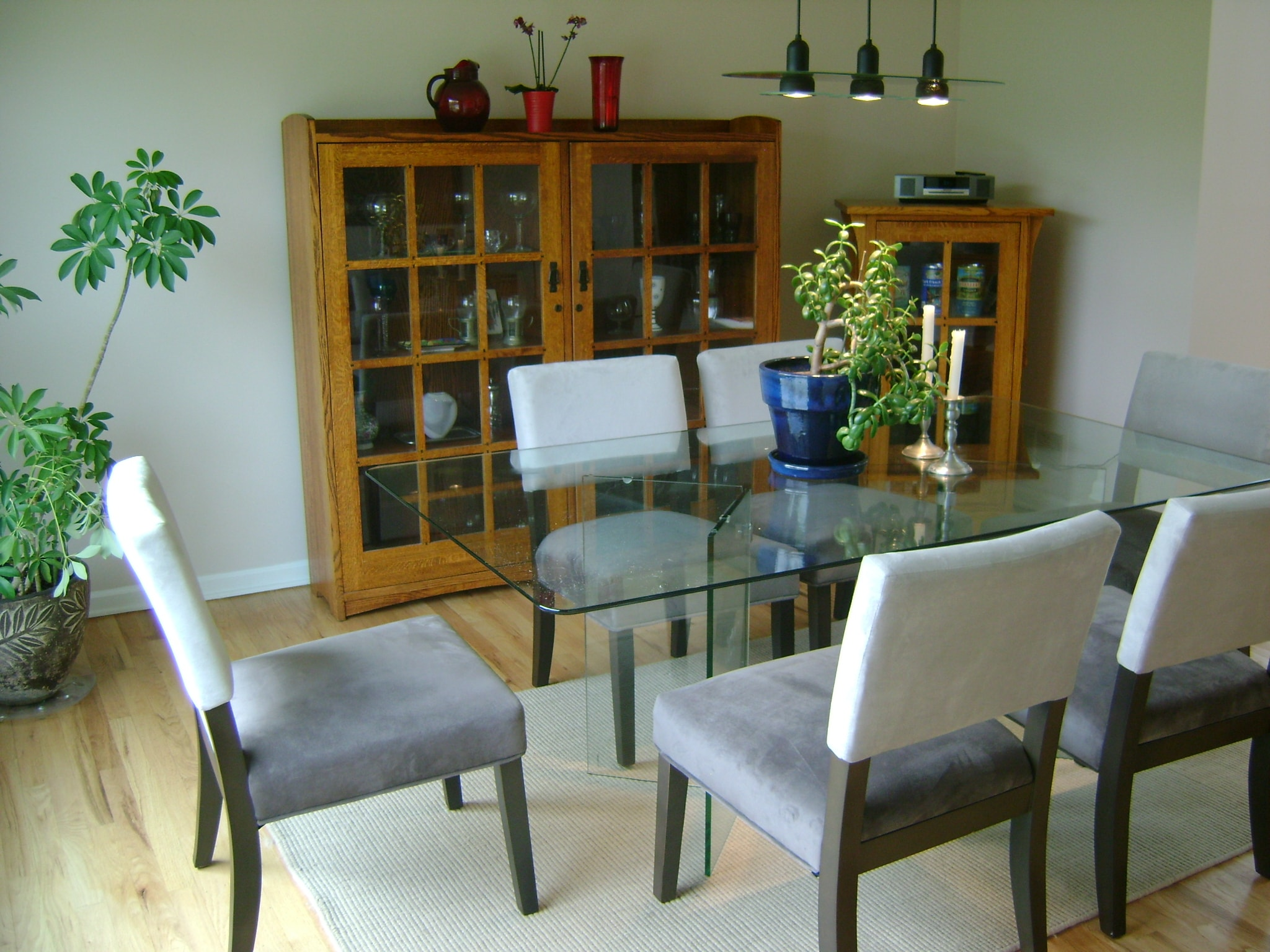 Modern Dining Space - After