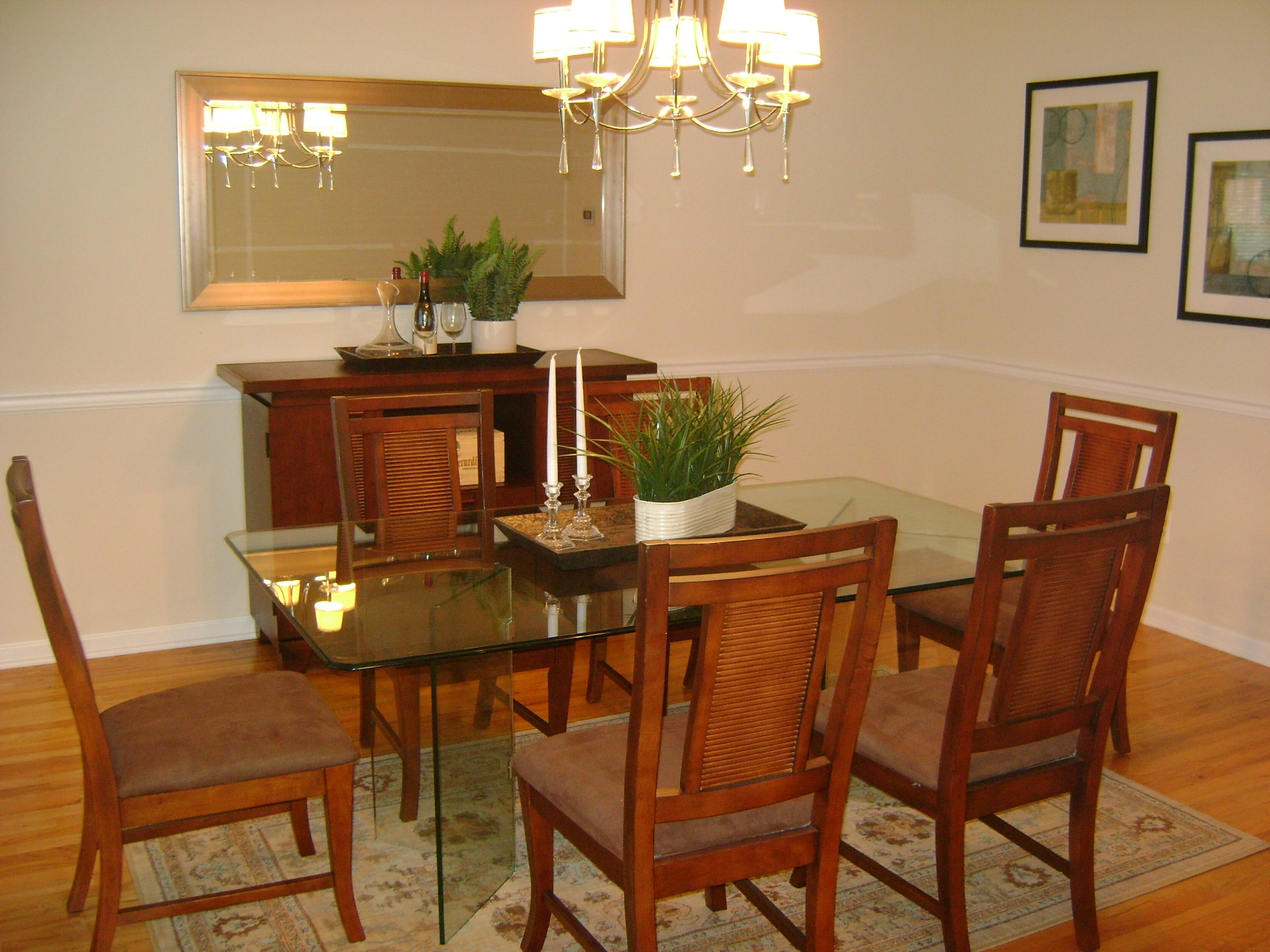 Wooden Dining Room - After