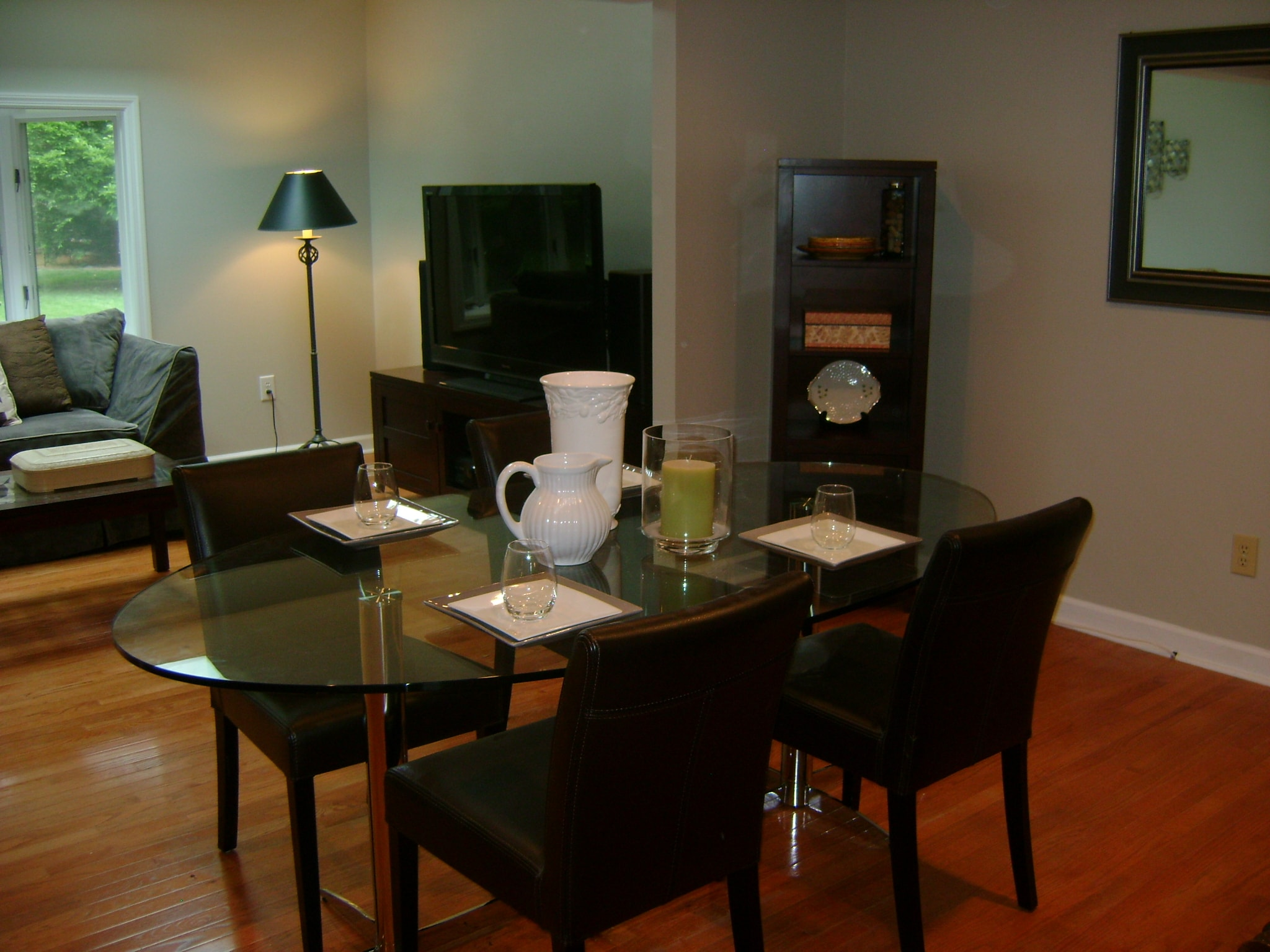 Simple Dining Room - After