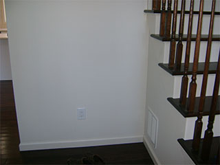 Stairwell Nook Before