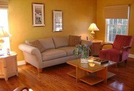 Staged Living Room - Home Staging Services